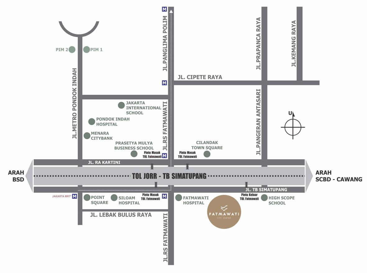 Lokasi-Fatmawati-City-Center